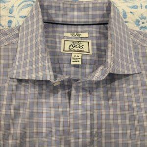 Jos. A. Bank Men's Dress Shirt NON-IRON SLIM FIT